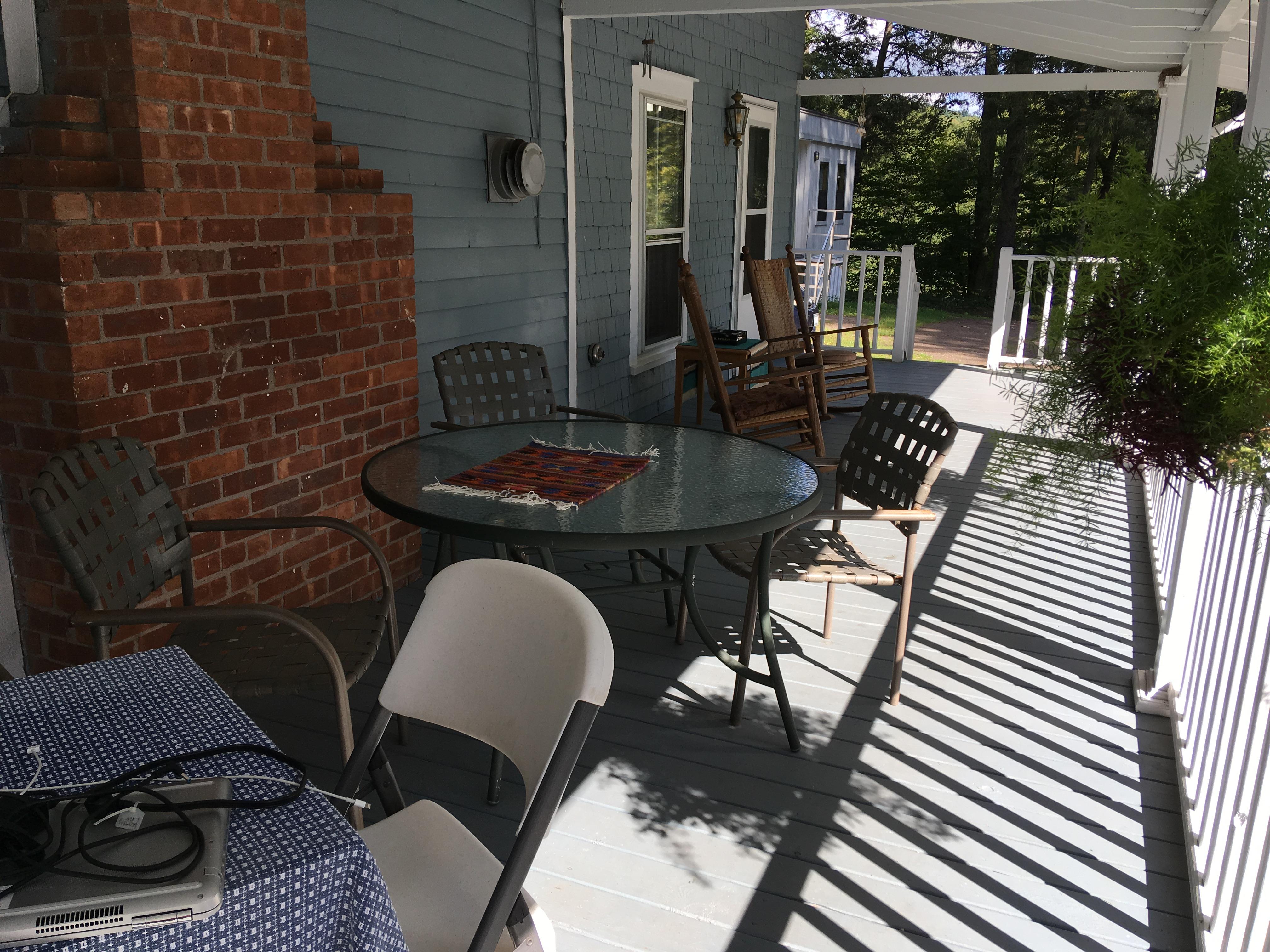 Blue deer porch.JPG